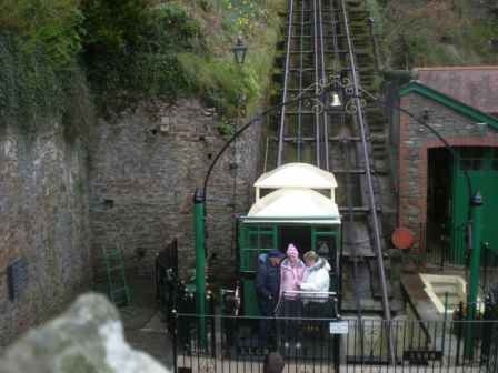 Cliff Railway at Lynton & Lynmouth